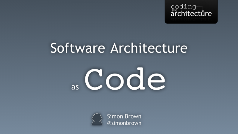 Software architecture as code