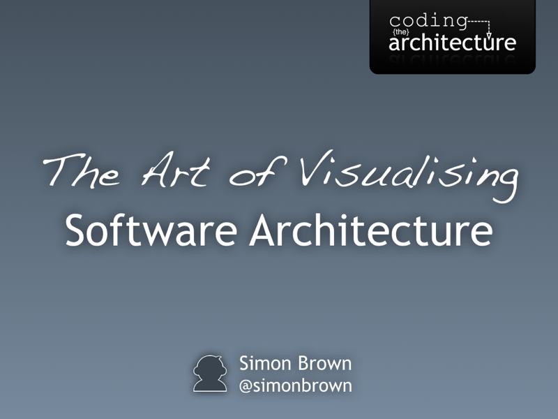 Simple sketches for diagramming your software architecture